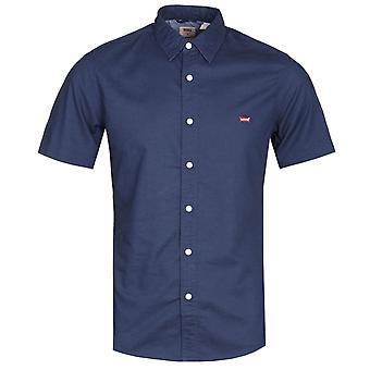 Levis Slim Fit Navy Kurzarm-Batterie-Shirt