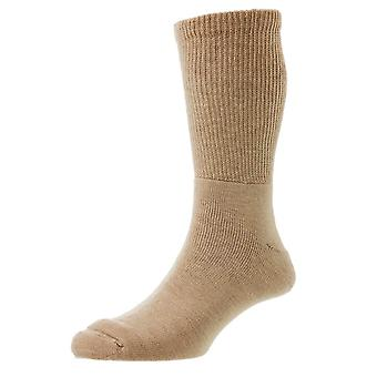 HJ Hall Wool Diabetic Socks - Beige