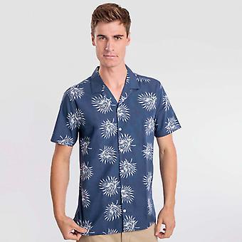 Maglietta Navy Blue Aloe