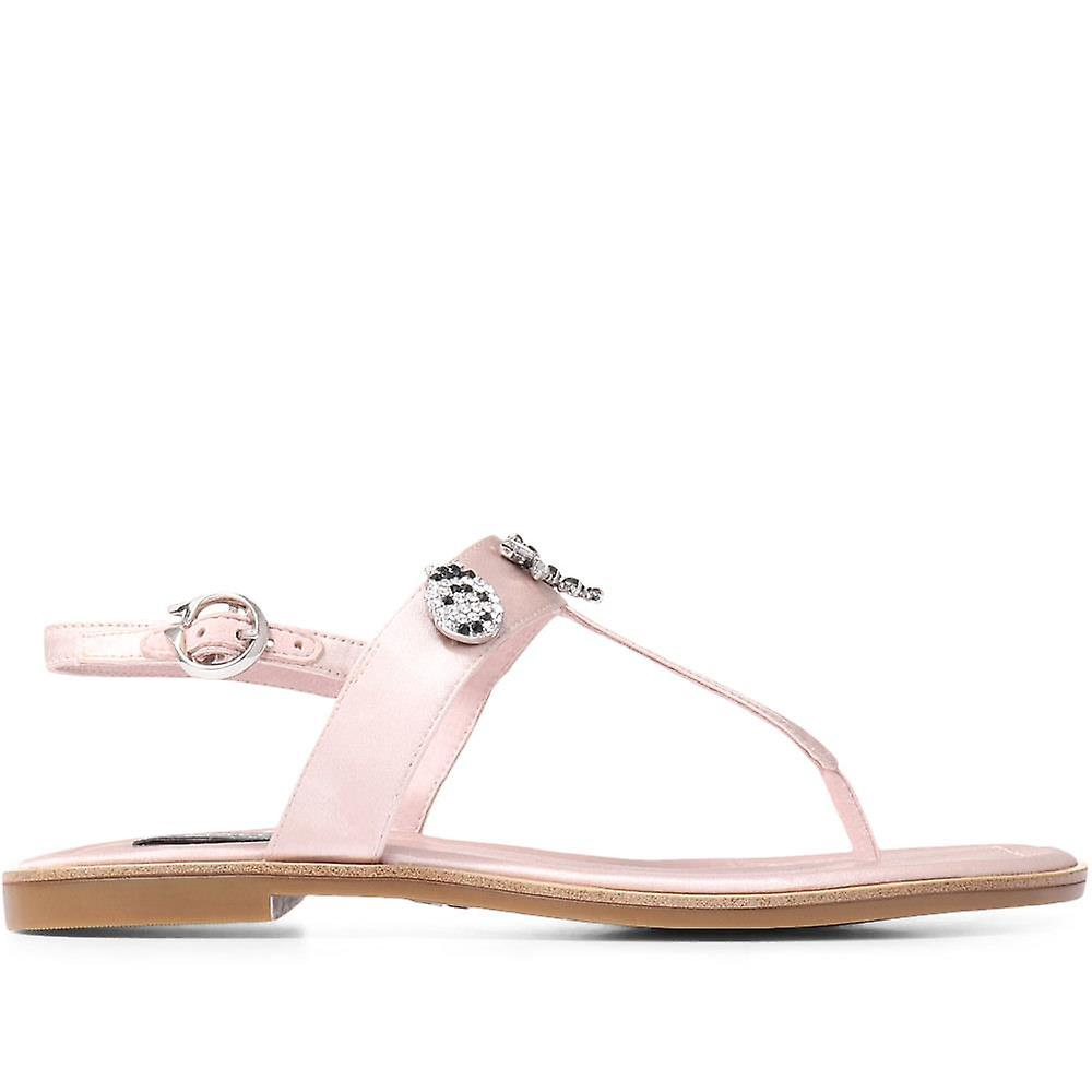 Staccato Womens Embellished Toe Post Sandal