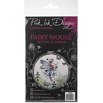 Pink Ink Designs A6 Clear Stamp – Fairy Mouse