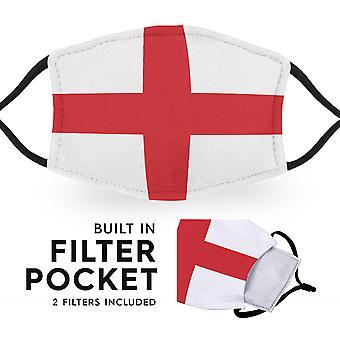 England Flag - Adult Face Masks