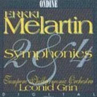 Melartin Symphony No. [CD] USA import
