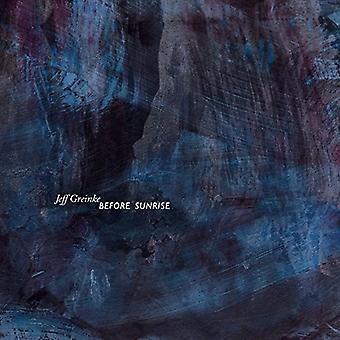 Before Sunrise [CD] USA import