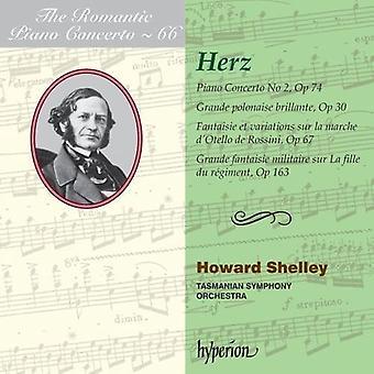 Herz, H. / Tasmanian Symphony Orchestra - Romantic Piano Concerto Vol.66 [CD] USA import