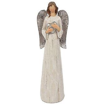Iets anders Evangeline grote engel kerst Ornament
