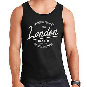London Banter Dry Goods & Supply Co Men's Weste