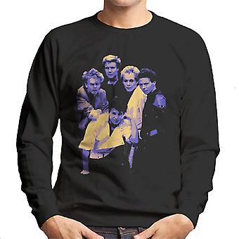 Telewizor razy Duran Duran zespół portret niebieska bluza męska 1983