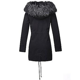 Bellivera Women's Parka Faux Fur Collar Twill Jacket, Warm Women Winter Coats...