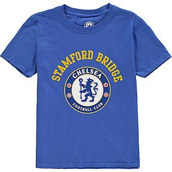 Source Lab Chlesea FC Crest T-Shirt Junior Boys