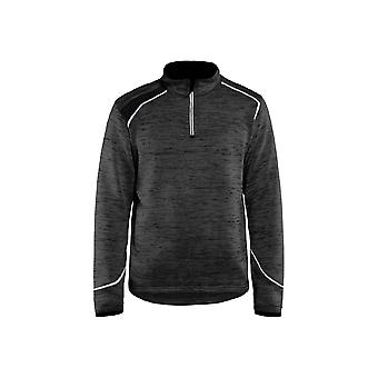 Blaklader knitted jacket half-zip 49432117 - mens