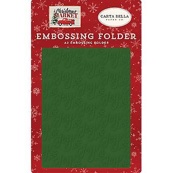Carta Bella Embossing Folder Joy
