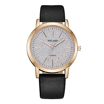 Yolako Quartz Watch Ladies - Anologue Luxury Watch for Women Black
