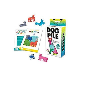 Games - Ceaco Brainwright - Dog Pile The Pup Packing Puzzle 8310