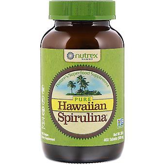 Nutrex Hawaii, Pure Hawaiian Spirulina, 500 mg, 400 Tablets