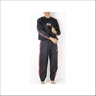 Pro box heavy weight sauna sweat suit - black