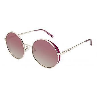 Sunglasses Unisex Beverly Polarized Gold/Pink
