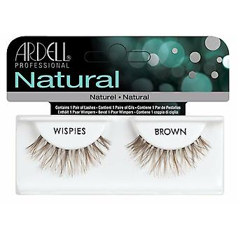 Ardell Natural Invisiband False Lashes - Wispies - 100% Genuine Fake Eyelash