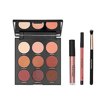 Profusion Cosmetics Mixed Metals Eyes & Lips Set - Peach