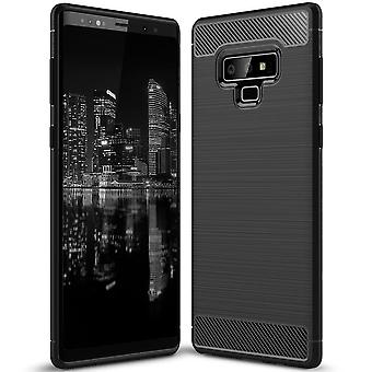 Soft Shell pour Samsung Galaxy Note 9 dans TPU Silicone Black