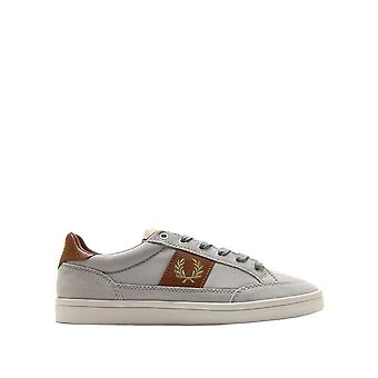 Fred Perry Men's Deuce Poly Suede Leather Sneakers