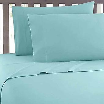 3Pc Hotel Quality Solid Deep Pocket Contemporary Bed Sheet Set King Size