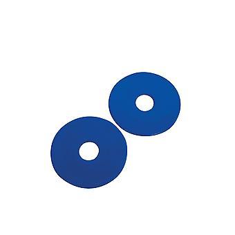 Korsteel Rubber Bit Guards (pair) - Blue