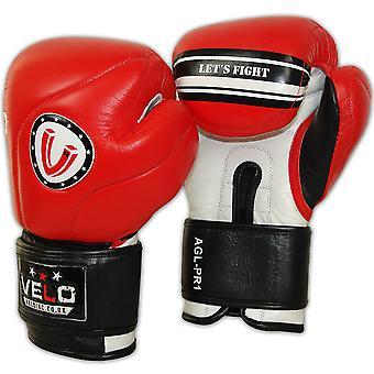 VELO Leather Boxing Gloves PR4