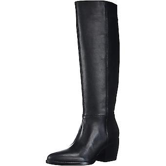 Naturalizer Womens FAE svart läder knä höga stövlar 8,5 W