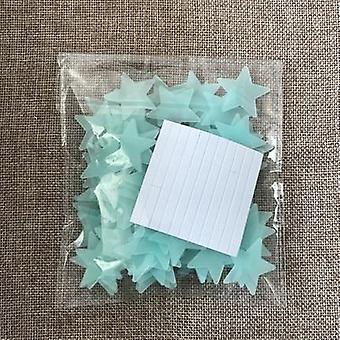 3d Night Luminous Star Sticker Glow In The Dark Toys Bedroom Decor Christmas