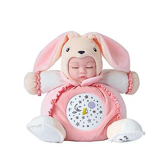 25cm Singing Lullaby Plush Dolls Sleepy Bebe Toys Luminous Light Sleep Reborn