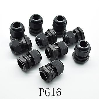 Ip68, Pg7, Pg9, Pg11, Pg13.5, Pg16 For 3-6.5mm-14mm Wire Cable, Waterproof
