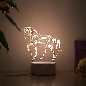 Romantic Love 3d Lamp - Heart Shaped Balloon Acrylic Led Night Light