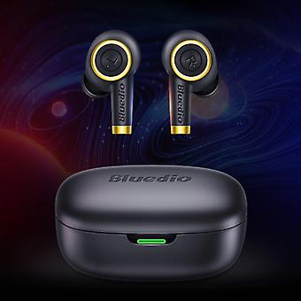 Bluedio Particle Wireless Earphones TWS Button Control Bluetooth 5.0 Air Wireless Pods Earphones Earbuds Black