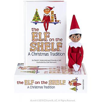 Elf On The Shelf: A Christmas Tradition (brown-eyed Boy). Elf & Book