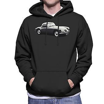 MG Side View British Motor Heritage Men's Hooded Sweatshirt