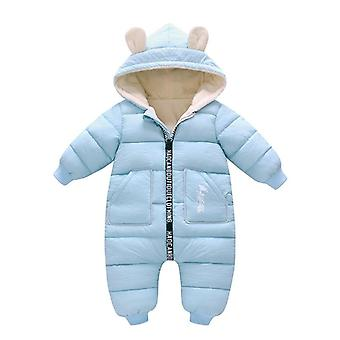 Winter Baby Jacke Mantel, Snowsuit Down Baumwolle