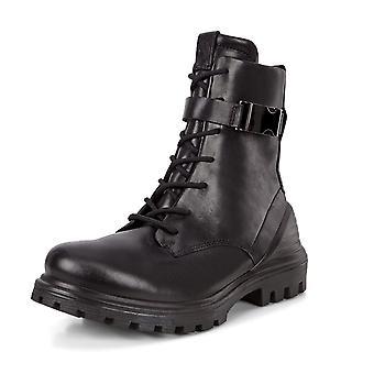 ECCO Ecco 460433 Tredtray W Moto läder boot i svart