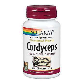 Solaray Cordyceps, 500 mg, 60 tappi