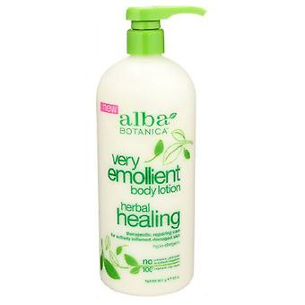 Alba Botanica Body Lotion Herbal Healing, 32 Oz