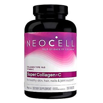 Neocell Laboratories Super Collagen + C - Type 1 & 3, 250 Tabs
