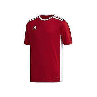 Adidas JR Entrada 18 CF1050 football summer boy t-shirt