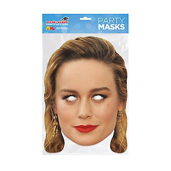 Mask-arade Brie Larson Kjendiser Party Ansiktsmaske