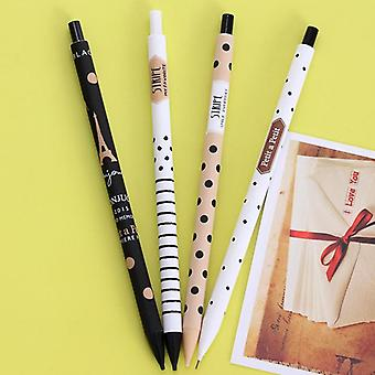 Creative Cute Plastic, Mechanical Pencil, Dots Tower Automatic Pen