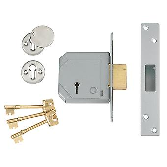 Union locks UNNV3G114B67 3G114E 5 Alavanca Mortice Deadlock C-Series 67mm Brass