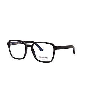 Cutler and Gross 1361 01 Black Glasses