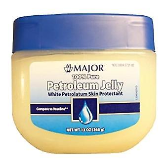 Major 100% pure white petroleum jelly, 13 oz