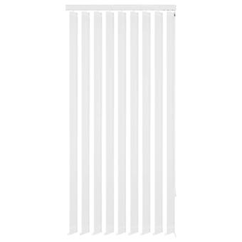 Vertical blinds White fabric 195x180 cm