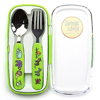 Tyrrell Katz Jungle 2pc Cutlery Set no caso