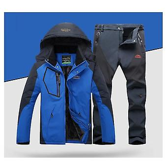 Winddichte, wasserdichte Snowboardjacke und Hose Outdoor Super Warm Snow Coat